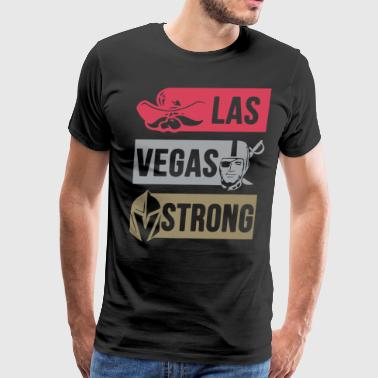 las vegas strong las vegas - Men's Premium T-Shirt