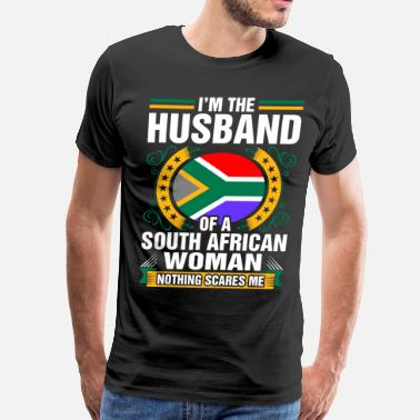 South Im The Husband Of A South African Woman - Men's Premium T-Shirt