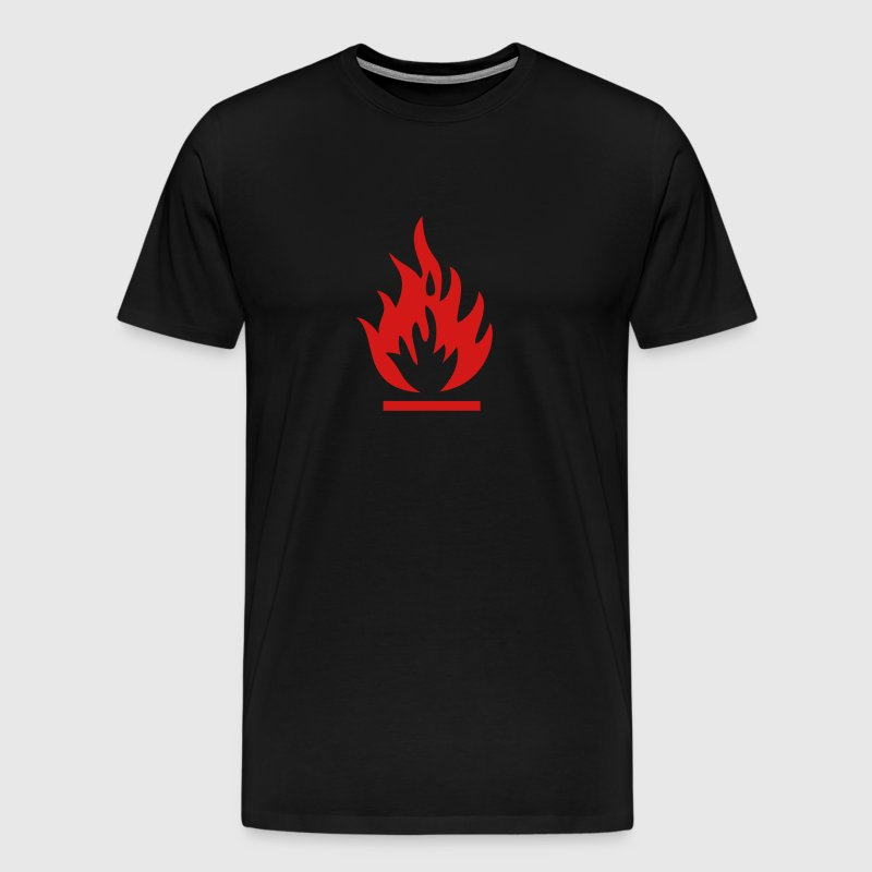 fire hazard - Men's Premium T-Shirt
