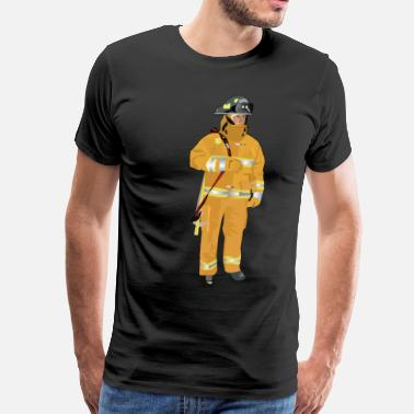 Fire Fighter Fire Fighter - Men's Premium T-Shirt