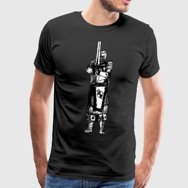 Medieval Knight - Men's Premium T-Shirt