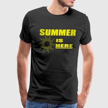 summer is here shirt and gifts - Men's Premium T-Shirt