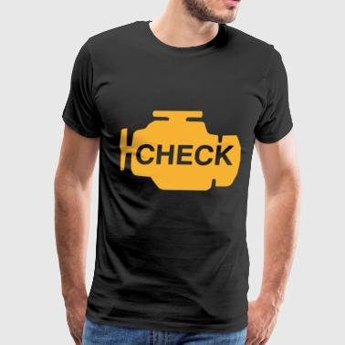 Check Engine Light Funny Automotive science T Shir - Men's Premium T-Shirt