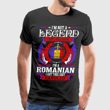 Im Not Legend Romanian - Men's Premium T-Shirt