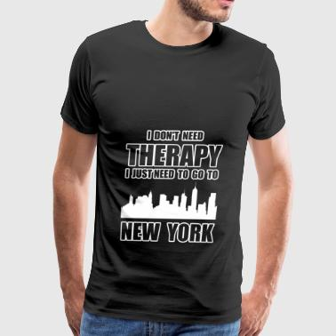 THERAPY NEW YORK - Men's Premium T-Shirt