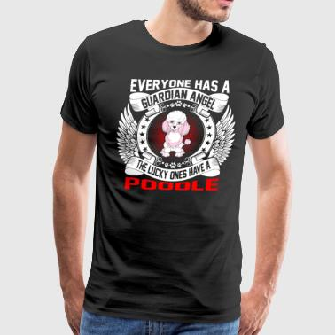 The Lucky Ones Have A Poodle - Men's Premium T-Shirt