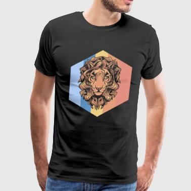 Lion Gift King Animal Wildness Meat Africa - Men's Premium T-Shirt