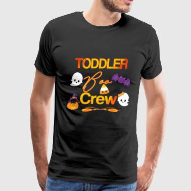 Halloween Daycare Shirt Cute Toddler Boo Crew Teacher Kids - Men's Premium T-Shirt