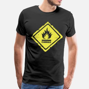 Flammable flammable - Men's Premium T-Shirt