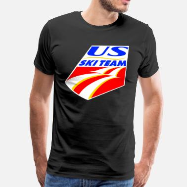Usa Ski Team US Ski Team - Men's Premium T-Shirt