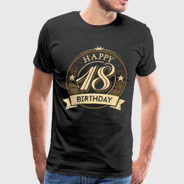 Rahmenlos 18th Birthday 46 PNG - Present - Men's Premium T-Shirt
