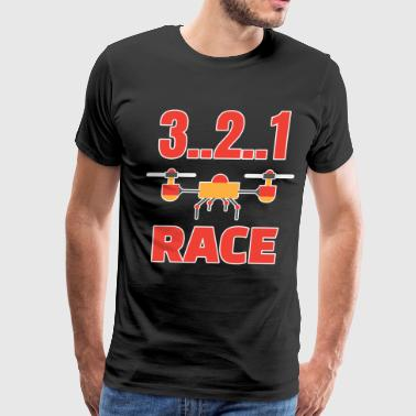 Drone - 3..2..1 Race - Men's Premium T-Shirt