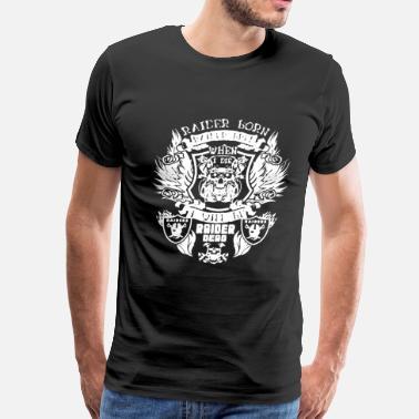 dc06fb55a82 Tomb Raider Raider Born Raider Bred - Men s Premium T-Shirt