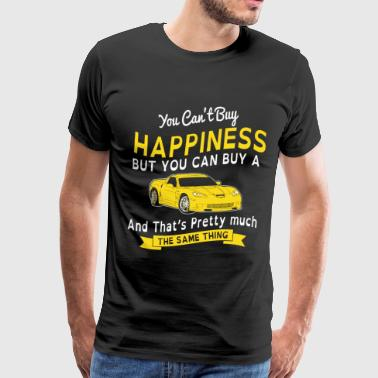 Pagani HAPPINESS AND SPORTS CAR - Men's Premium T-Shirt