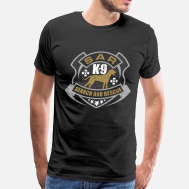 Search K-9 Search and Rescue - Men's Premium T-Shirt