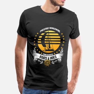 Aviation Boatswains Mate Present Boats & Hoes - Prestige Worldwide - Men's Premium T-Shirt