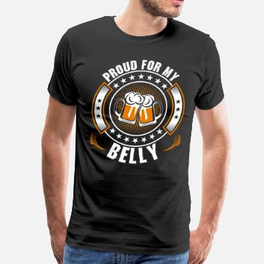 My Belly Proud For My Belly - Men's Premium T-Shirt