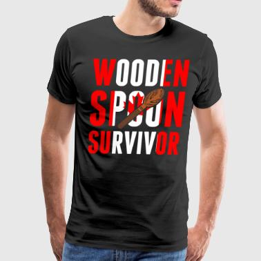 Canadian Wooden Spoon Survivor - Men's Premium T-Shirt
