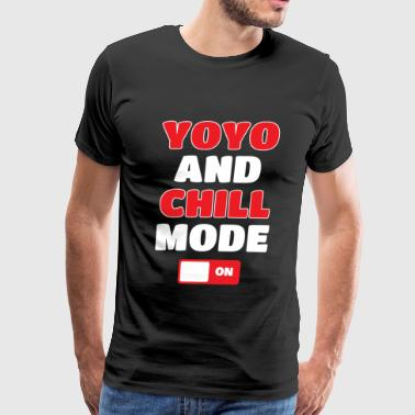 Yo-Yo And Chill Mode On - Men's Premium T-Shirt
