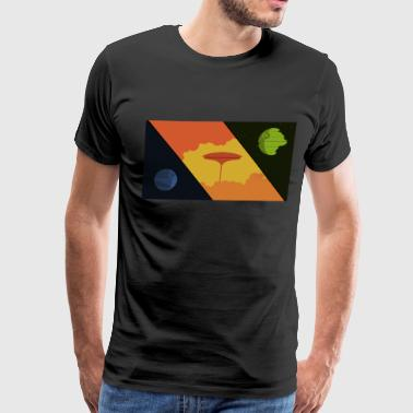 Star Wars Simplistic Original Trilogy Design - Men's Premium T-Shirt