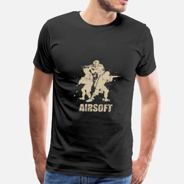 Civil War Softair Arisoft Skill – Air Gun - Men's Premium T-Shirt
