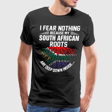 South African Roots Are Deep Down Inside - Men's Premium T-Shirt