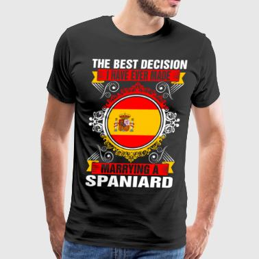 Marrying A Spaniard - Men's Premium T-Shirt