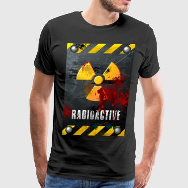 Radioactive Radioactive sign - Men's Premium T-Shirt