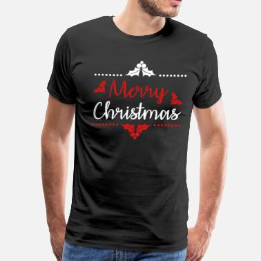 Angel Christ Merry Christmas Eve Santa Claus Winter Snow Gift - Men's Premium T-Shirt