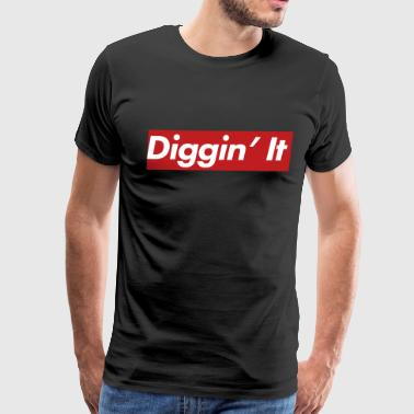 Simple Diggin' It - Men's Premium T-Shirt