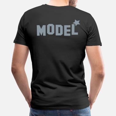Famous Star model with star! Famous! - Men's Premium T-Shirt