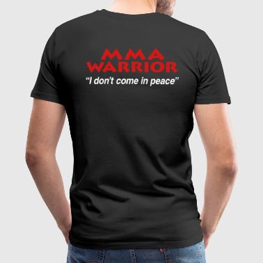 Mixed Martial Arts Warrior - MMA - Men's Premium T-Shirt