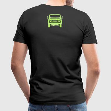 land rover - Men's Premium T-Shirt