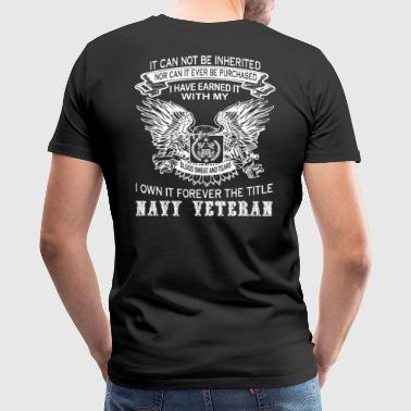 navy veteran - Men's Premium T-Shirt