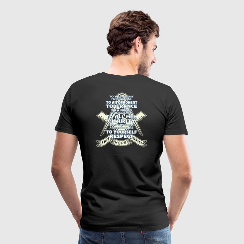 Faith - Hope - Charity - Men's Premium T-Shirt