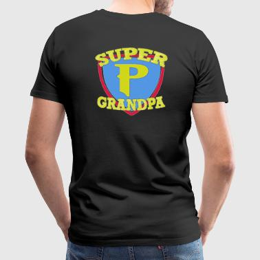 super grandpa - Men's Premium T-Shirt