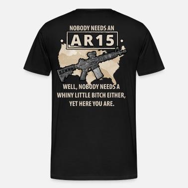 ad1604962e5 Nobody needs an AR15  Well