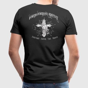 Fortis Fortuna Adiuvat Tattoo - Men's Premium T-Shirt