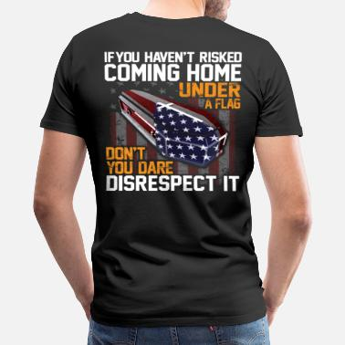 Come COMING HOME UNDER A FLAG - Men's Premium T-Shirt