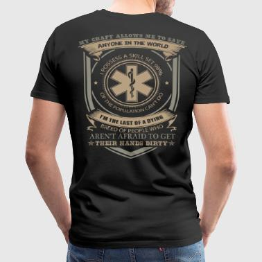 Hfd Firefighter Paramedic Emt Rescue Fire Fire Fighter Houston Ems Paramedic paramedic jokes firefighter paramedic  - Men's Premium T-Shirt