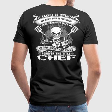 Chef swedish chef Chef chef skull and cleavers m - Men's Premium T-Shirt