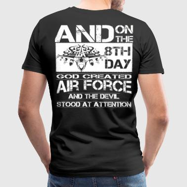 Air Force royal air force air force girlfriend a - Men's Premium T-Shirt