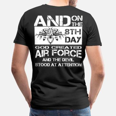 Royal Air Force Air Force royal air force air force girlfriend a - Men's Premium T-Shirt