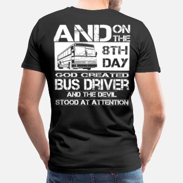 School Bus Bus Driver bus driver accessories funny bus driv - Men's Premium T-Shirt
