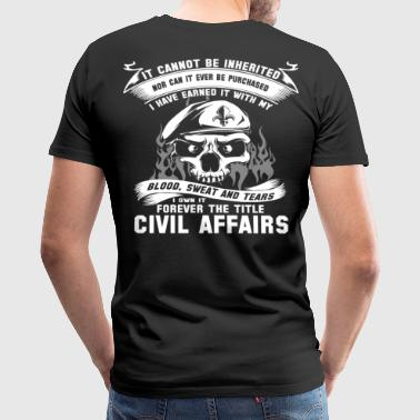 Civil Affair  - Men's Premium T-Shirt