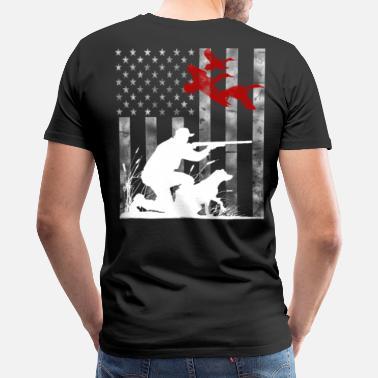 e1c4dd9809 Funny Duck Hunting Duck Hunting - Men's Premium T-Shirt