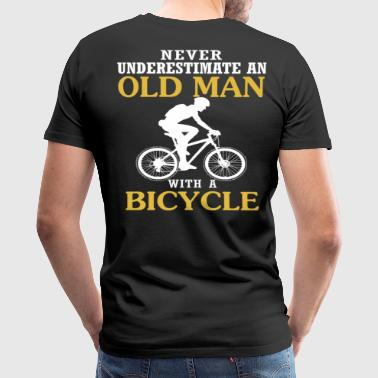 Bicycle Old Man Bicycle Old Man - Men's Premium T-Shirt