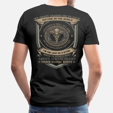 Army Medic Combat Medic Rock  - Men's Premium T-Shirt