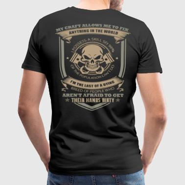 Mechanic mechanics aprons engineer mechanical en - Men's Premium T-Shirt