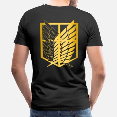 Legion Military legion gold - Men's Premium T-Shirt